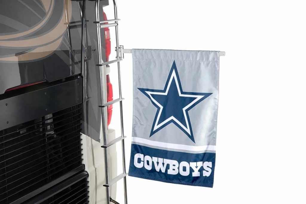 cowboys two sided house flag